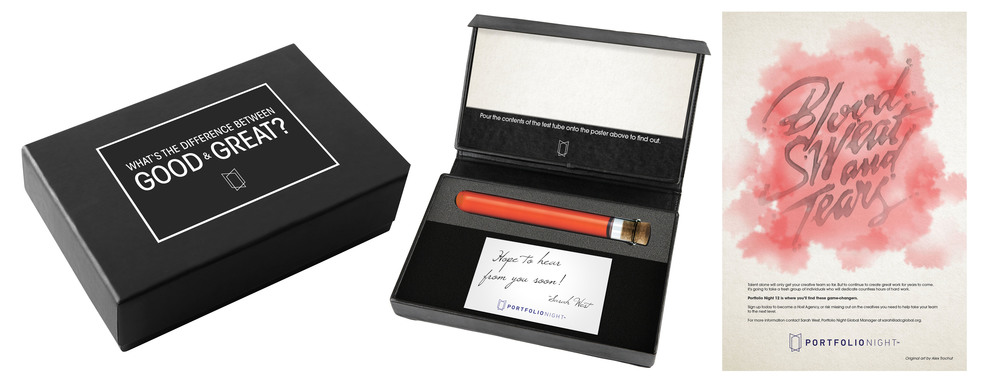 Direct Mail PR Kits - Message Revealing Hydrochromic Ink