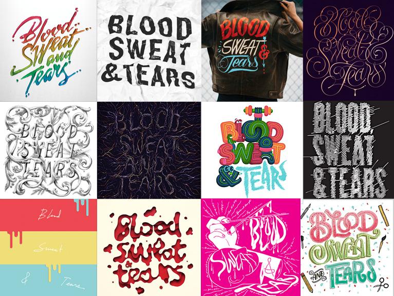 Young Gun Artists Interpretation of Blood, Sweat & Tears