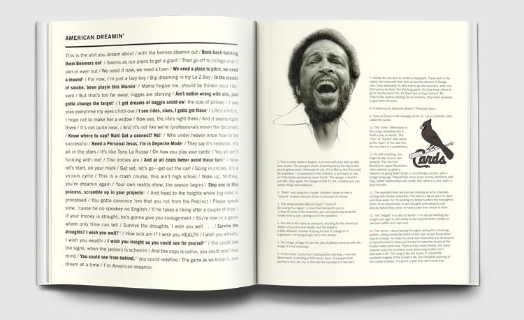 Marvin Gaye Illustration: Matt Buck  Illustration based on a photograph by Landov