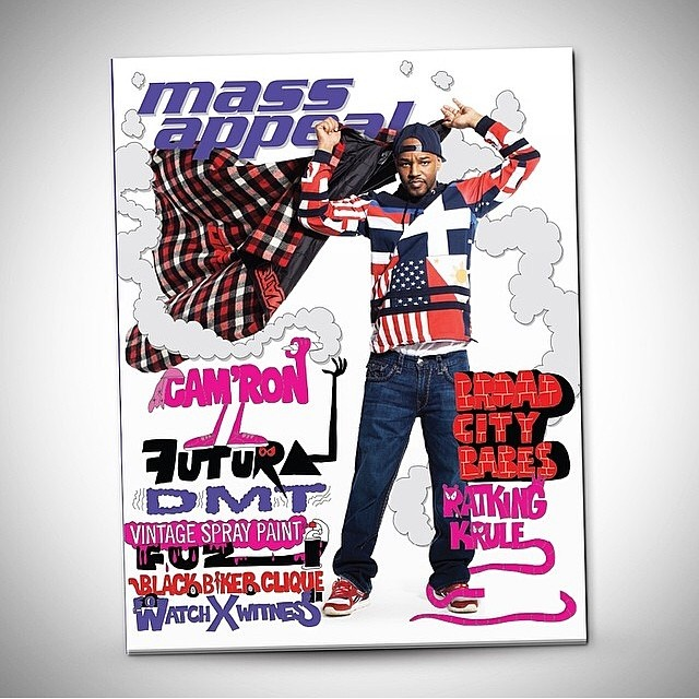 Issue 54 of @massappeal is finally here! Killa job @mr_camron @salacuse @toddjamesreas