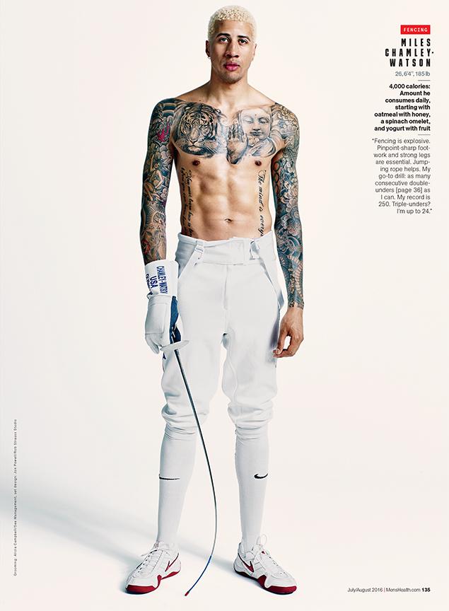 Miles Chamley-Watson, Olympian- Fencing