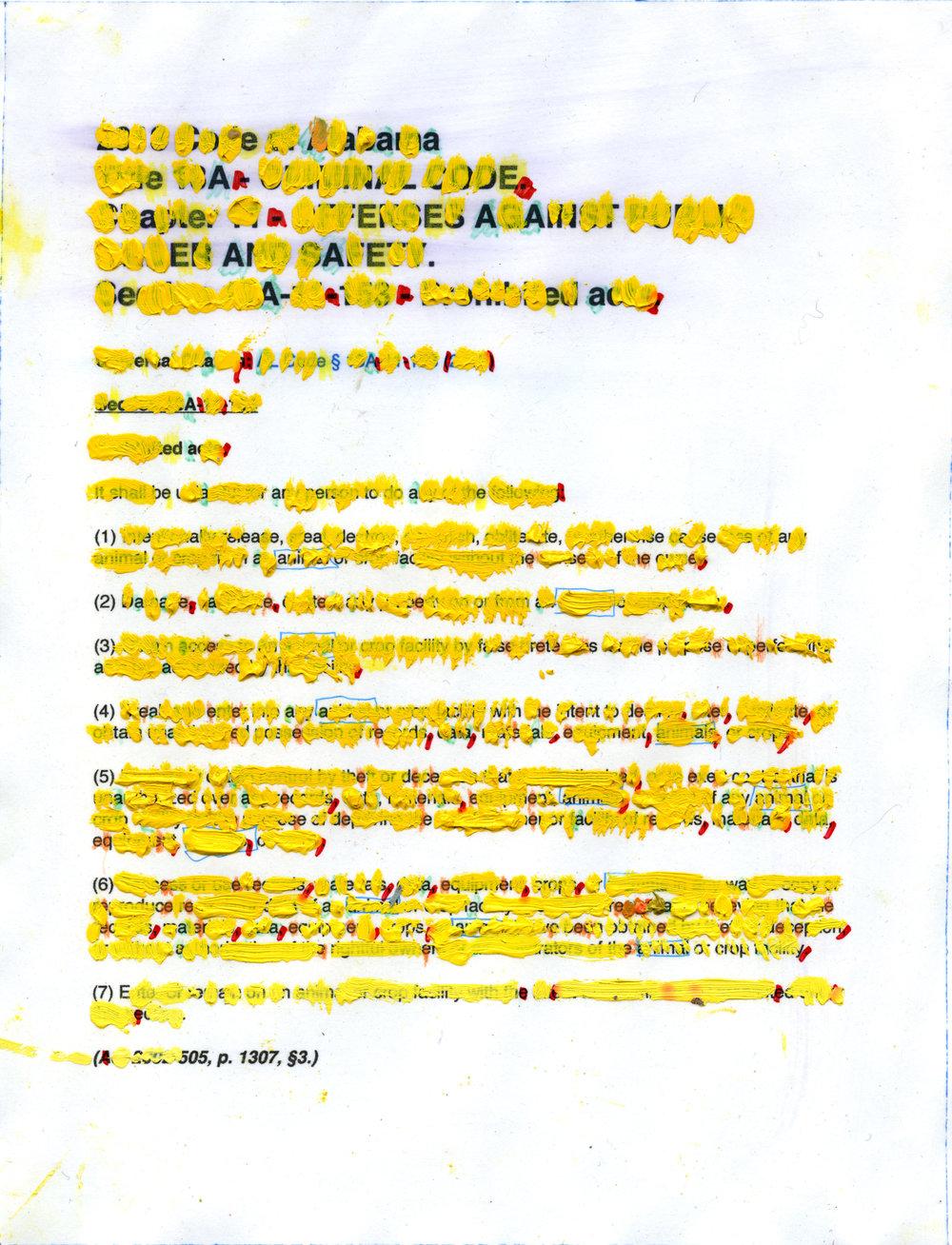 YELLOWHAMMER original text