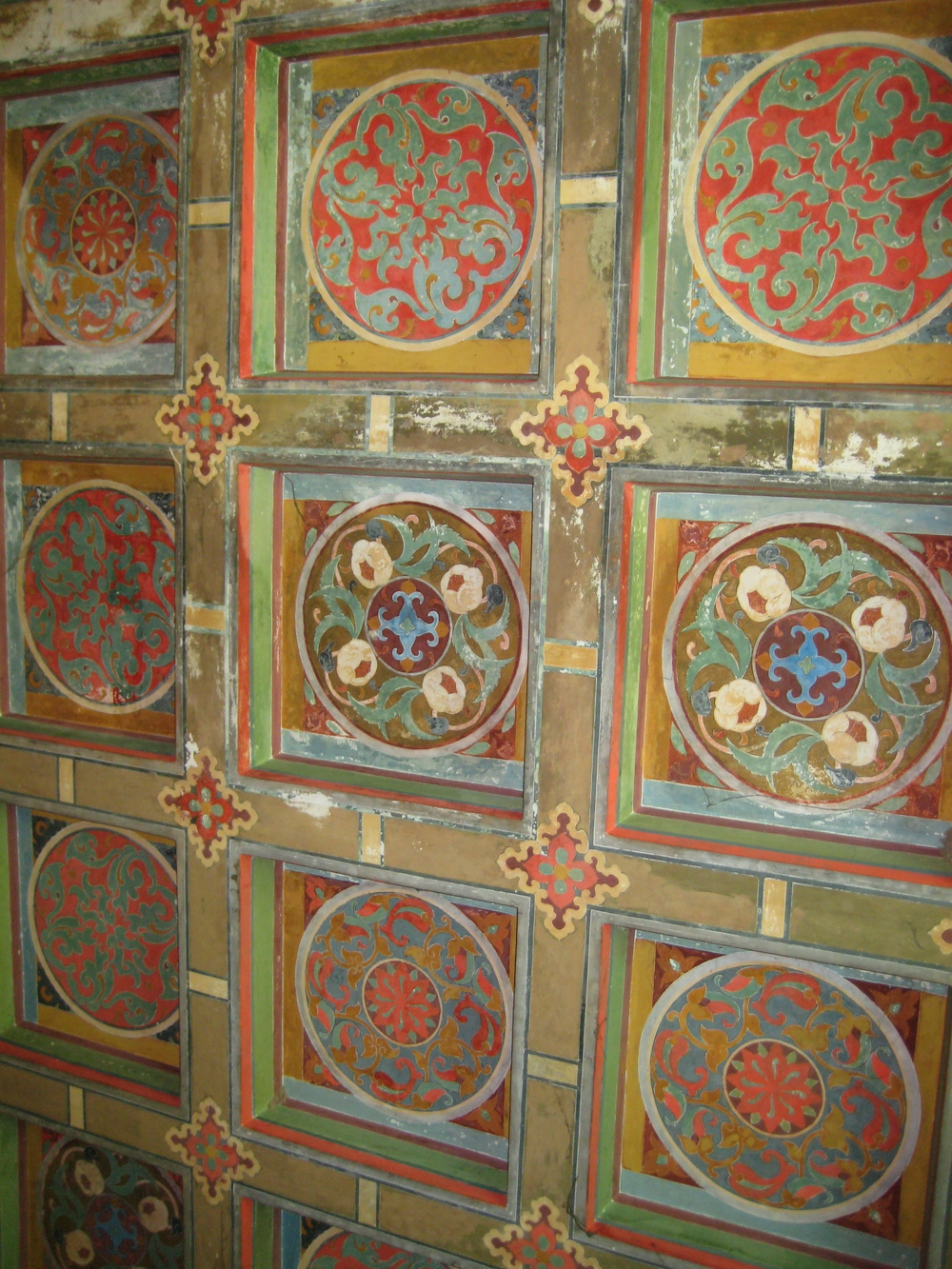 Beautiful painted ceiling, Delhi