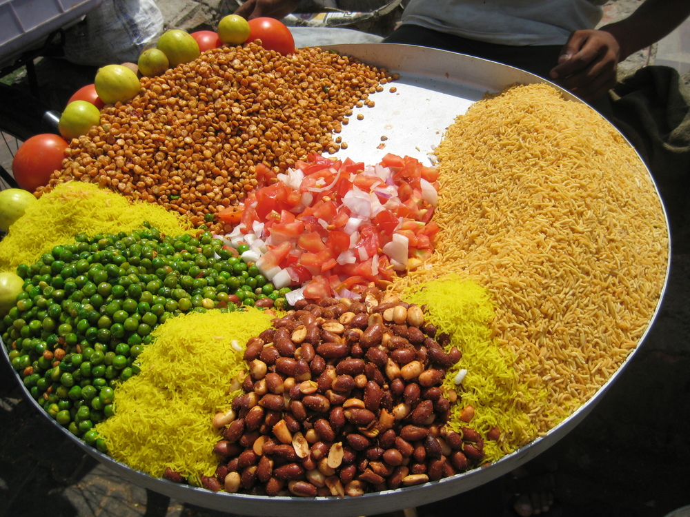 Colorful Street food,India