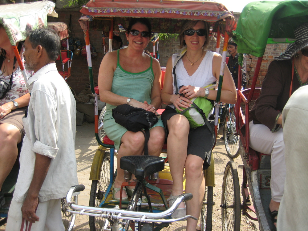 Going for a TukTuk ride in Old Delhi