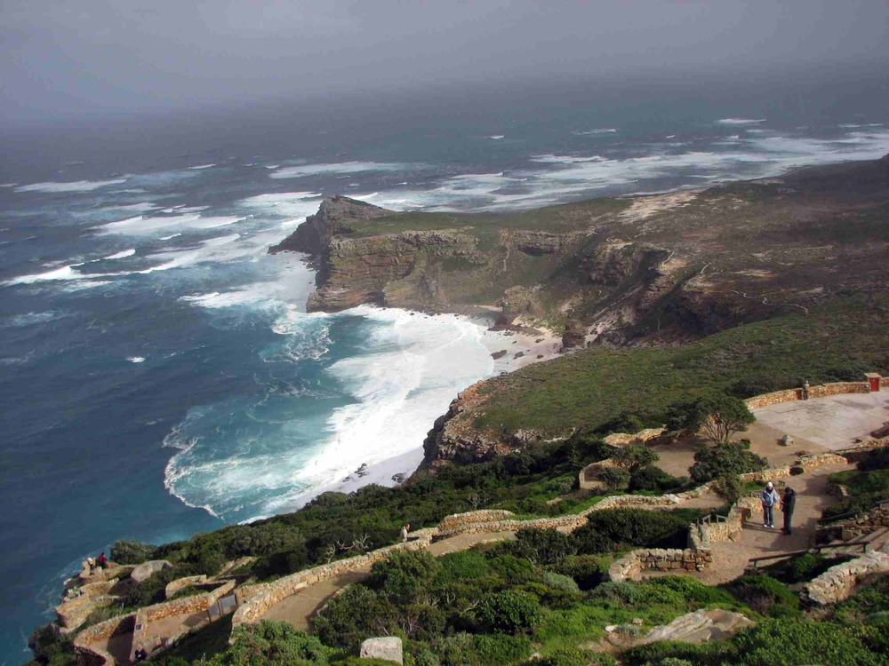 I couldn't get enough of this coastal view at the Cape of Good Hope, South Africa