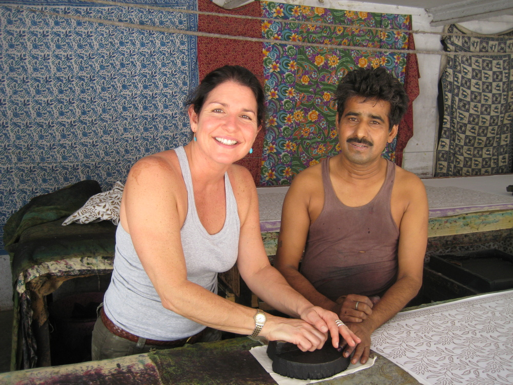 Learning to blockprint in Jaipur