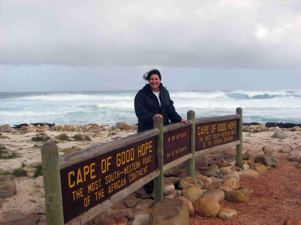 Me at the most South Western point of the African Continent, Cape of Good Hope, South Africa