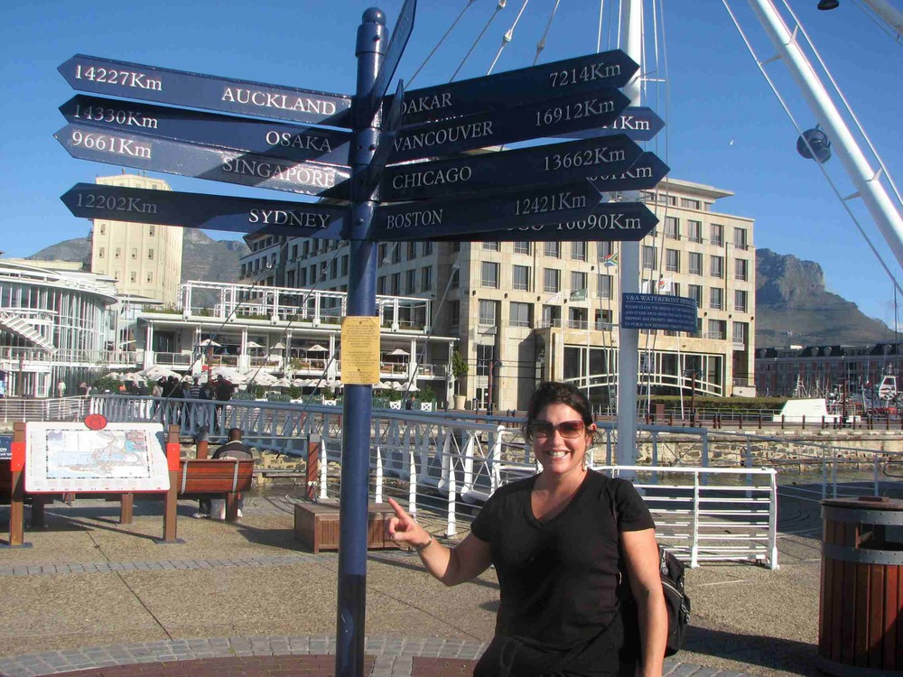 So close and yet so far, V&A Waterfront, Cape Town, South Africa