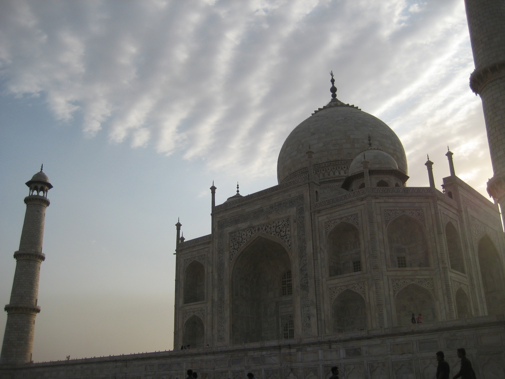 Sunrise at the Taj Mahal