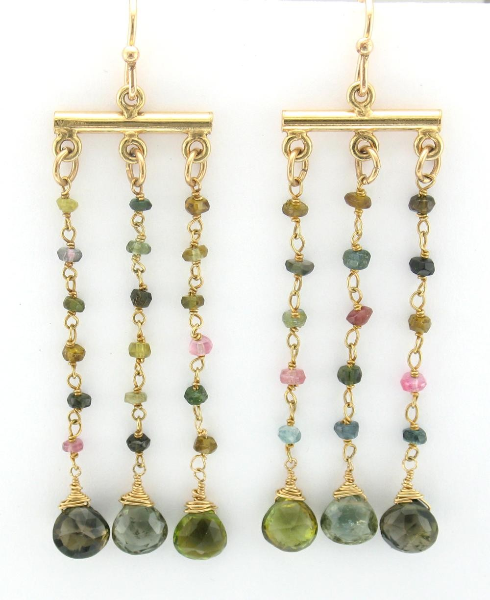 Tourmaline Marrakech Earring $135