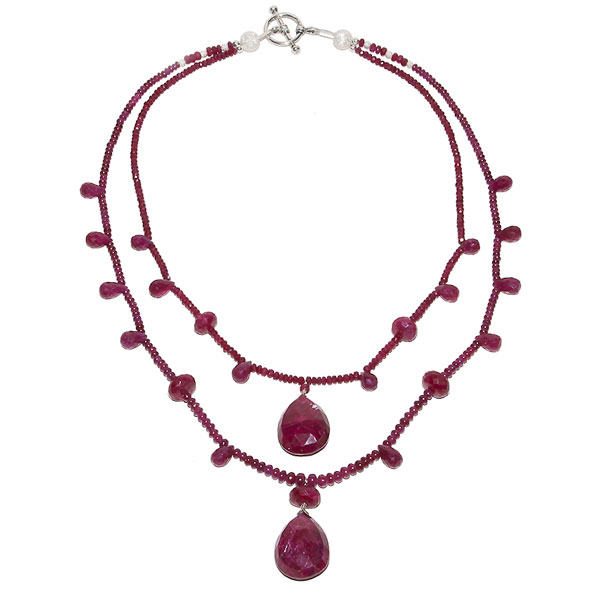 Dripping with Rubies Necklace $1185