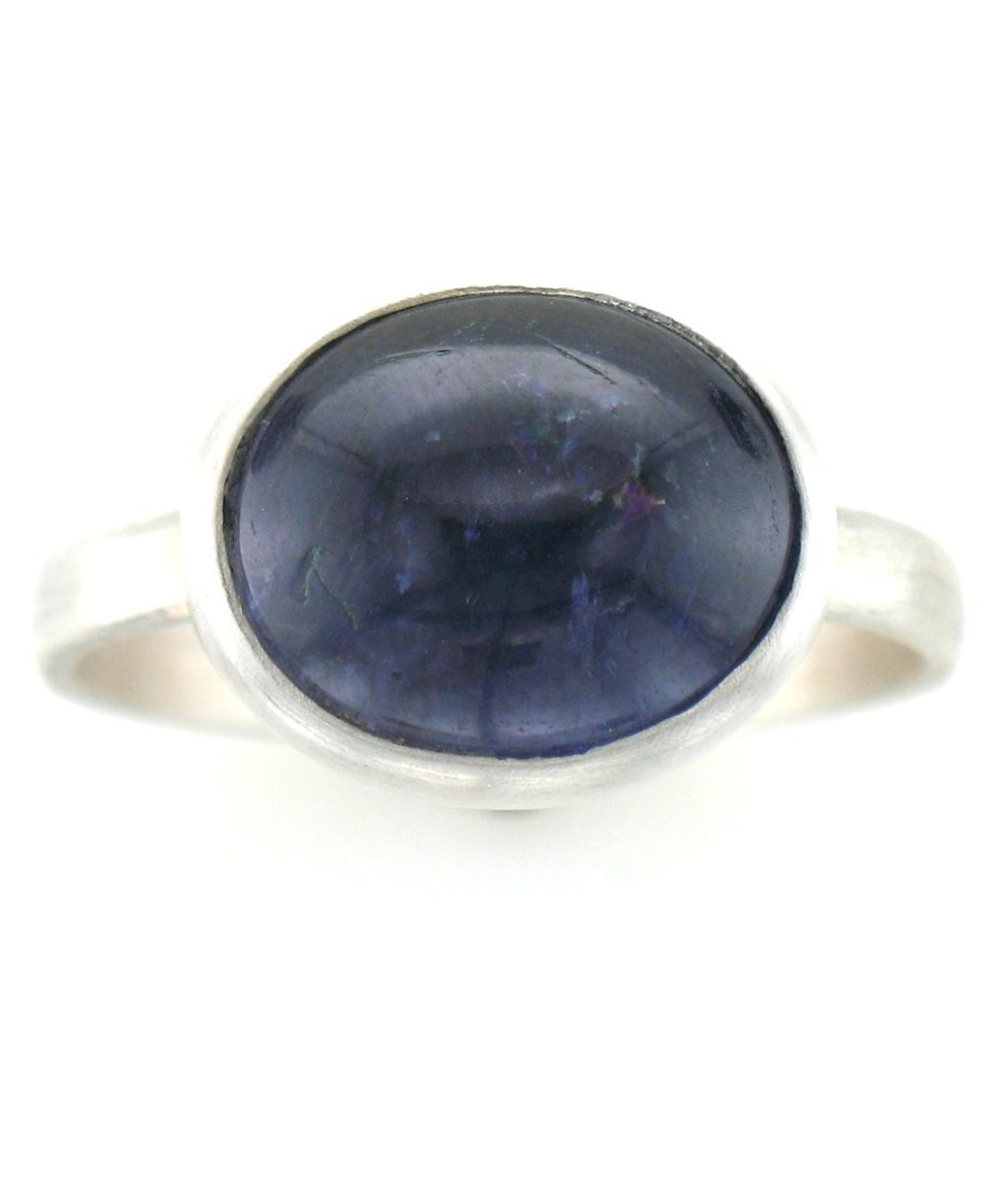 Sterling Silver Iolite Ring $95