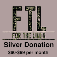 Silver Donation $60-$99 monthly