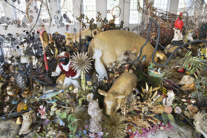 Nick Cave, Until (2016) installation view, MASS MoCA. Photo by James Prinz, courtesy of MASS MoCA