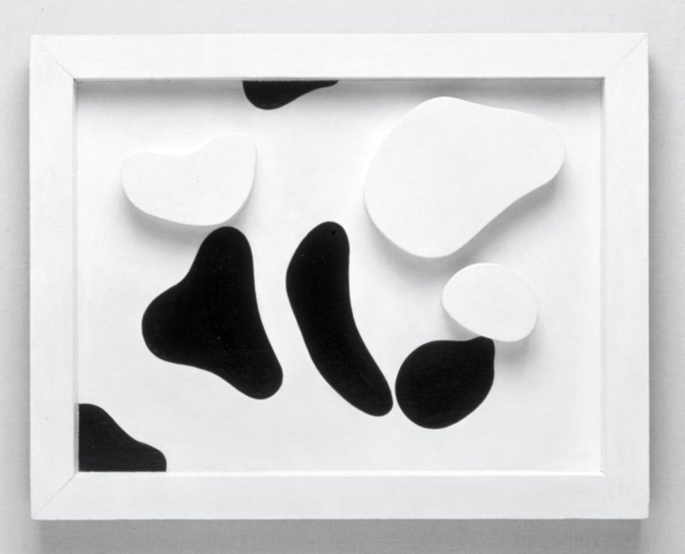Jean Arp (1886-1966), Constellation According to the Laws of Chance c. 1930 From the Tate Collection