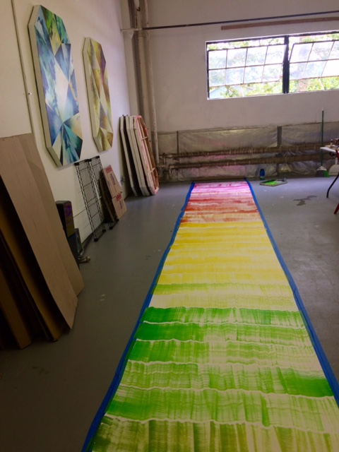 A view of my studio in New Haven, CT