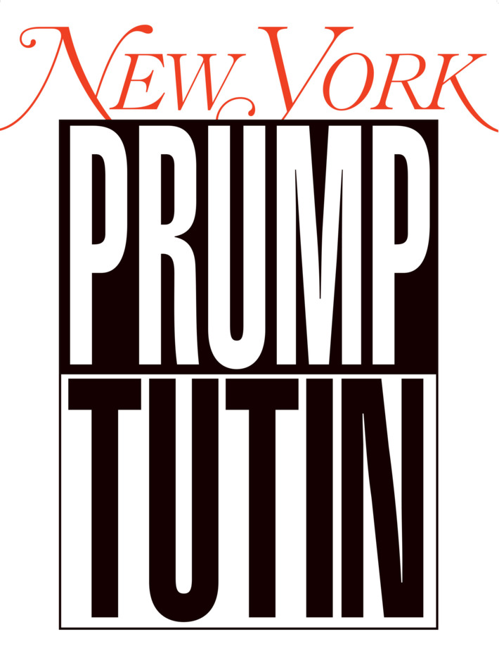 Barbara Kruger's cover for  New York  Magazine