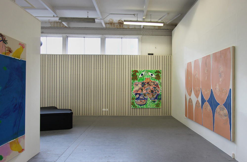 Installation view     Slade School of Fine Art BA/BFA Degree Show 2014           Paintings by Suzy Babington