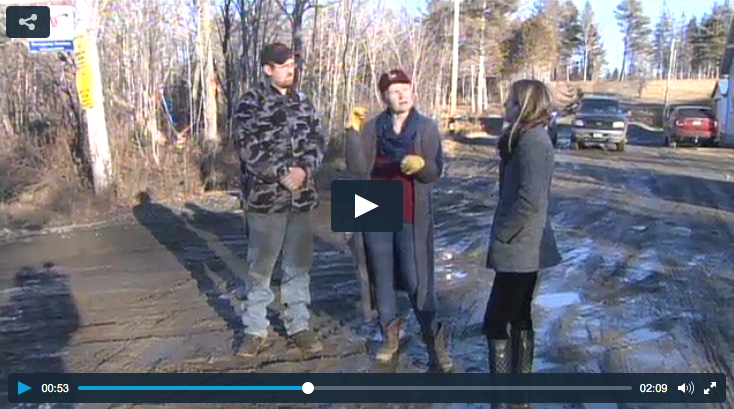 WABI reports on the damage inflicted in Maine by out-of-state wind moguls.