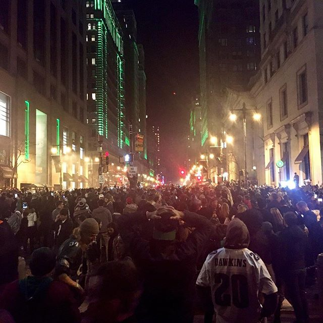 Eagles Super Bowl #philadelphiaeagles #philadelphia #broadstreet #victory #superbowl #superbowl52 #centeroftheuniverse