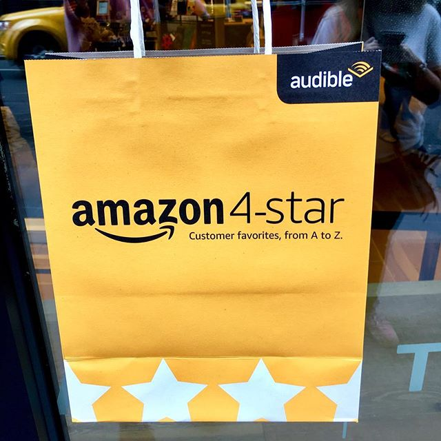 The future is stores #amazon4star #amazon #stores #4star