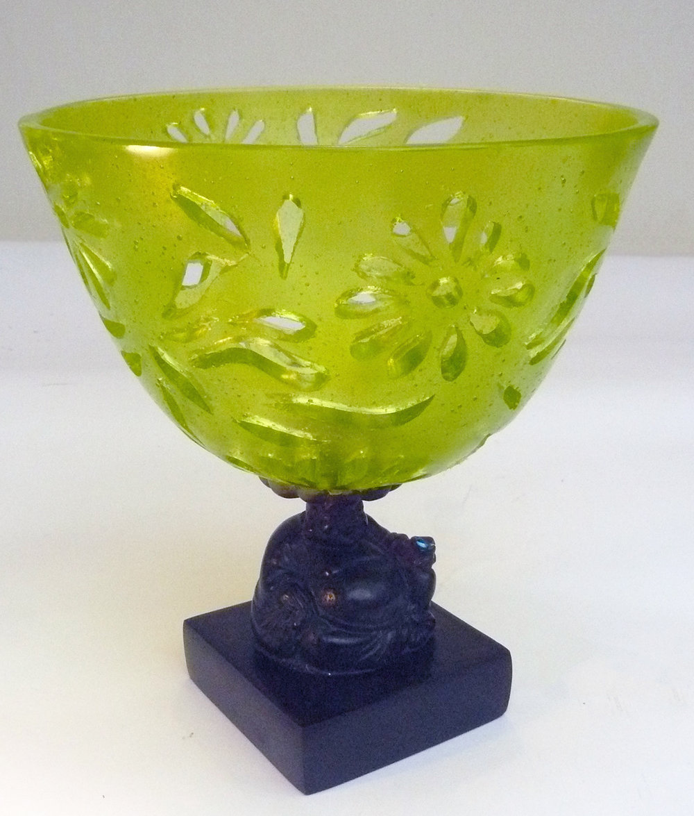 Lime pierce bowl on a buddha.jpg
