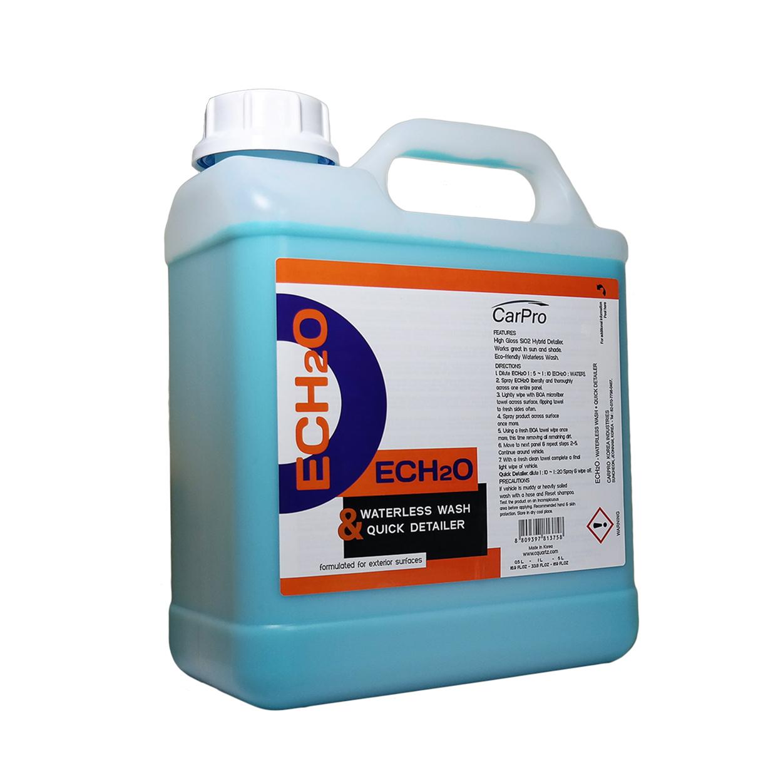 Carpro Ech2o Waterless Rinseless Wash Qd Concentrate 4l