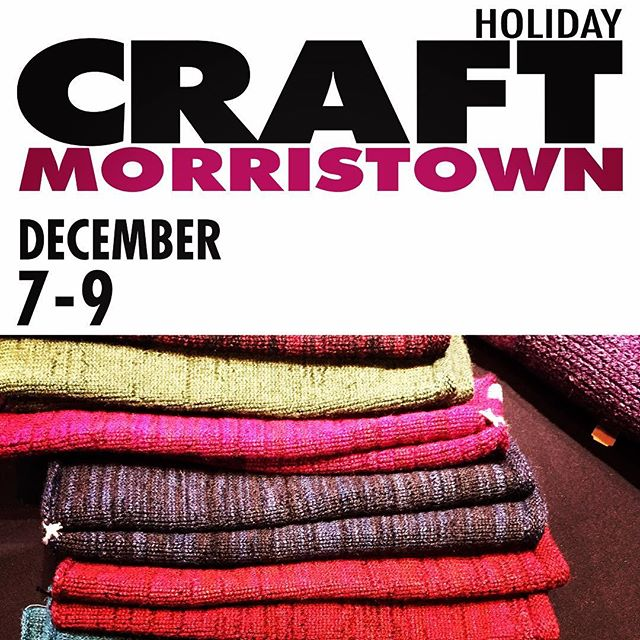 Start tomorrow! Visit LFABRIKA and amazing artists from around the country at Holiday Craft Morristown! #artridercrafts #knittedlace #artrider #merinowoolsilkscarf #naturalyarn