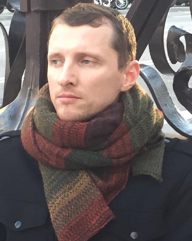 Cashmere/Merino Wool/Silk scarf  LFABRIKA started season 2019!