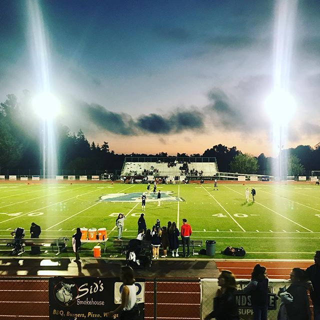 Here for the band/drumline. @joji.joji.joji #Fridaynightlights #aptos