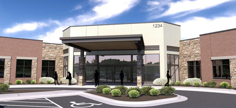 Medical office building Front  Entrance 20170821.jpg