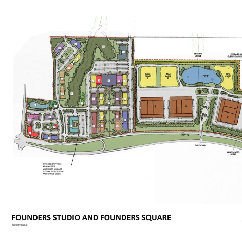 FOUNDERS STUDIO & FOUNDERS SQUARE - FAYETTE COUNTY