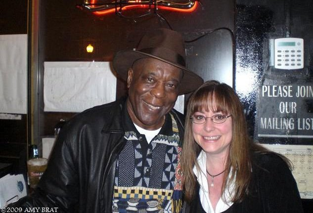 Buddy Guy & Amy Brat at the Old Legends in Chicago