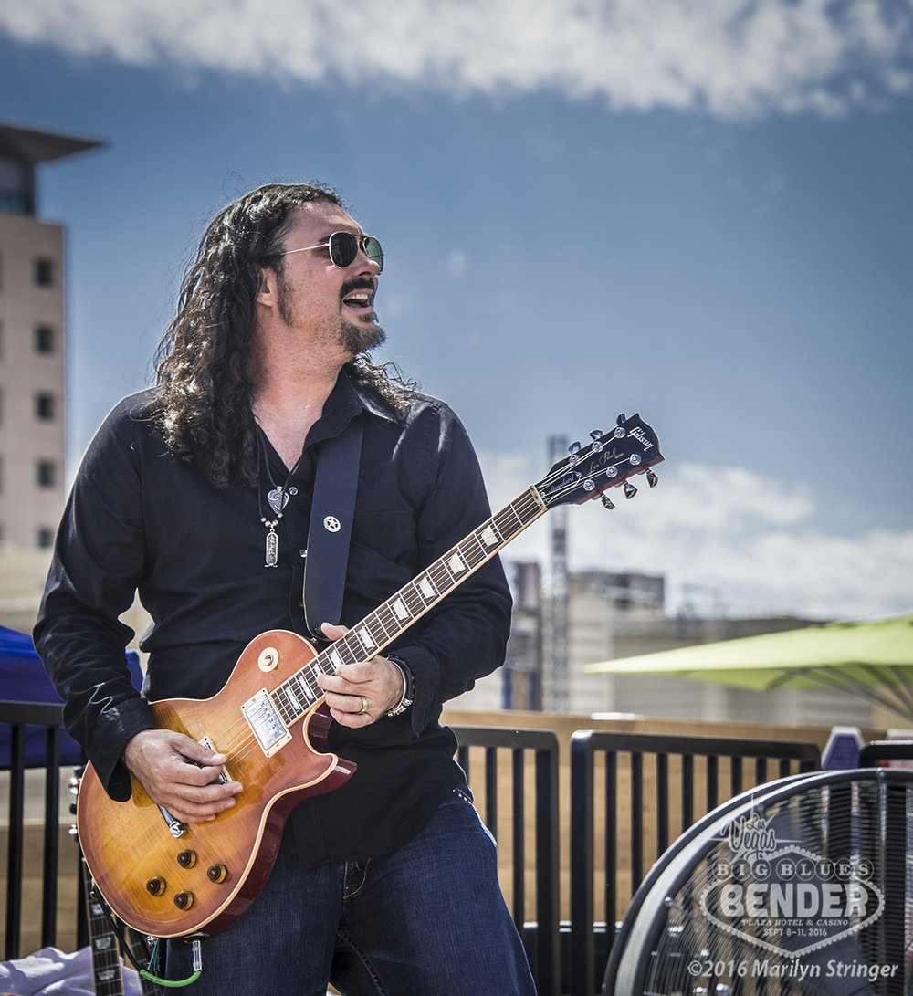 ALASTAIR GREENE – BAND BIG BLUES BENDER 2016 Photo Credit: Marilyn Stringer