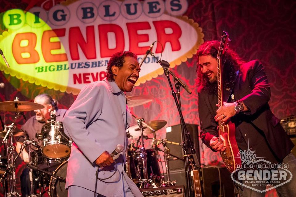 "The Alastair Greene Band performed two full shows on two stages at one of the hottest new Blues events in the world, the Big Blues Bender in Las Vegas NV Sept 8-11th 2016. Alastair also served as the resident ""guitar dude"" for several pro-jams, as well as the Bender for HART benefit show which raised over $15, 000 for the Blues Foundation's HART fund, kicking off  the official start of the Big Blues Bender. The nightly Bender Pro-Jams were led by sax-man Jimmy Carpenter who fronted the house backup band, the Bender Brass Band. Over the course of the Big Blues Bender, Alastair performed 4 days/nights with either his band or the Bender Brass Band, performing alongside: Bobby Rush, Bob Margolin, Bob Corritore, Anne Harris, Deanna Bogart, Mike Zito, Brandon Santini, Victor Wainwright, Annika Chambers, and Terri Odabi."