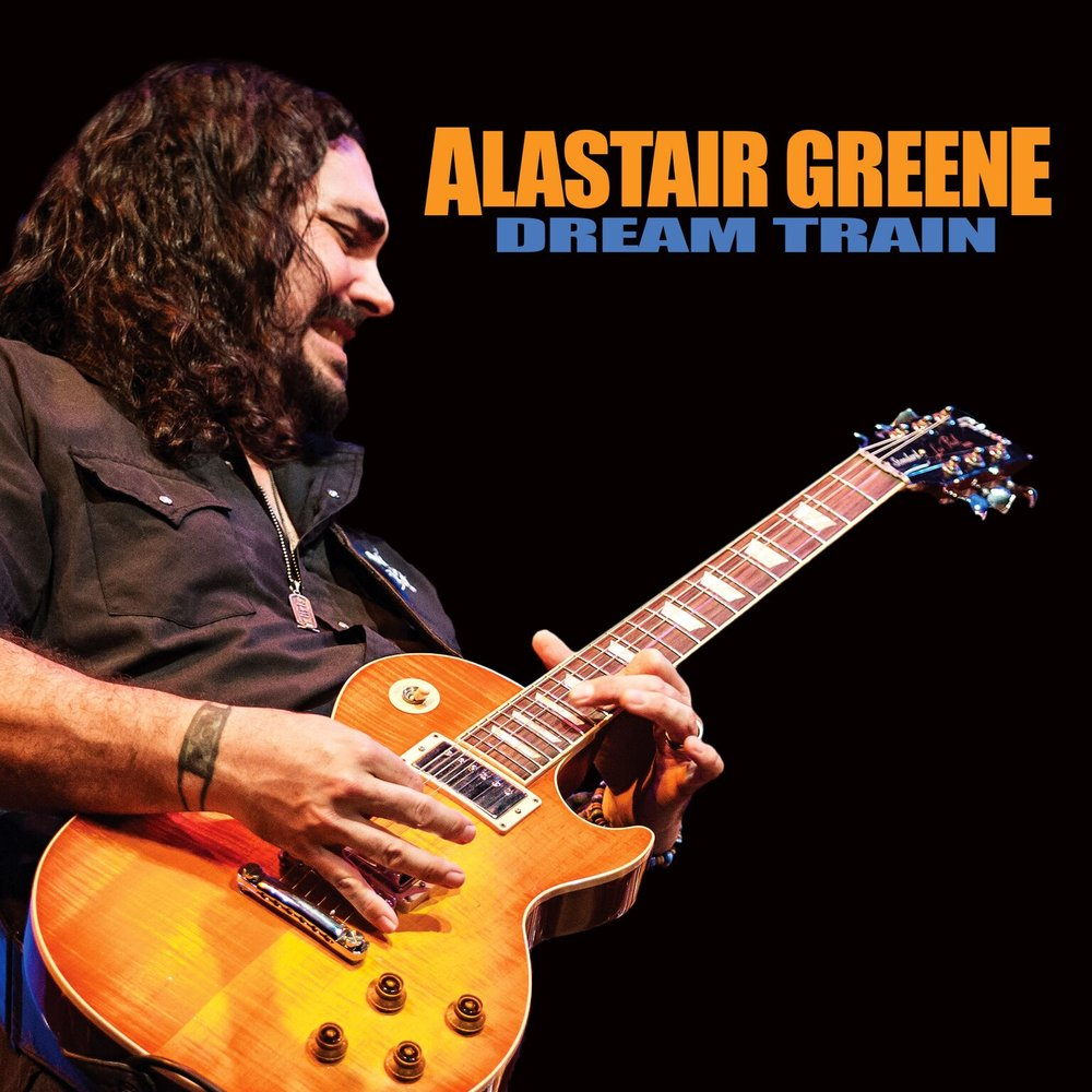 DREAM TRAIN,   Alastair Greene's 6th Studio Album – Produced and mixed by David Z, containing thirteen tracks: twelve originals and one previously unreleased song written by Billy Gibbons of ZZ TOP – Rip Cat Records.  Special guests include: DEBBIE DAVIES, WALTER TROUT, MIKE FINNIGAN, MIKE ZITO, and DENNIS GRUENLING.   RELEASE DATE: OCT 20, 2017    LABEL: RIP CAT RECORDS