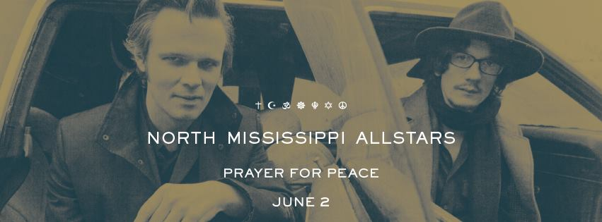 North Mississippi Allstars  PRAYER FOR PEACE  June 2 • Pre Order Now:  https://lnk.to/NMApfp  Tour Dates & More:  www.nmallstars.com