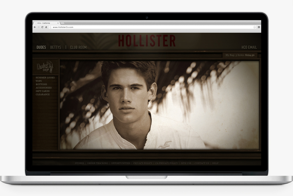 HollisterCo.com -  2006 to 2008