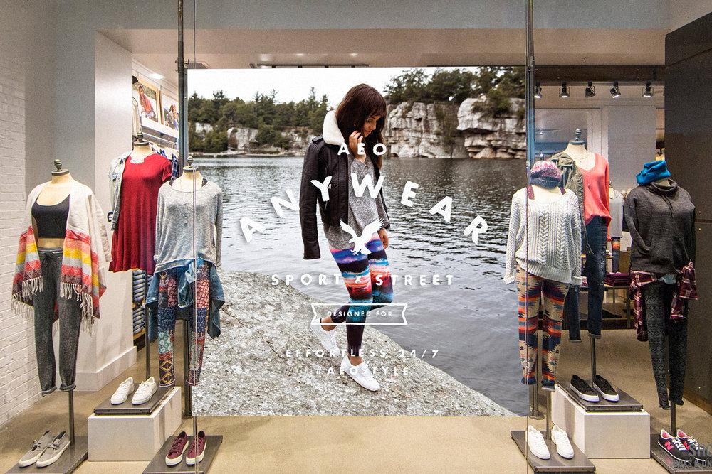 AEO Women's Window Display