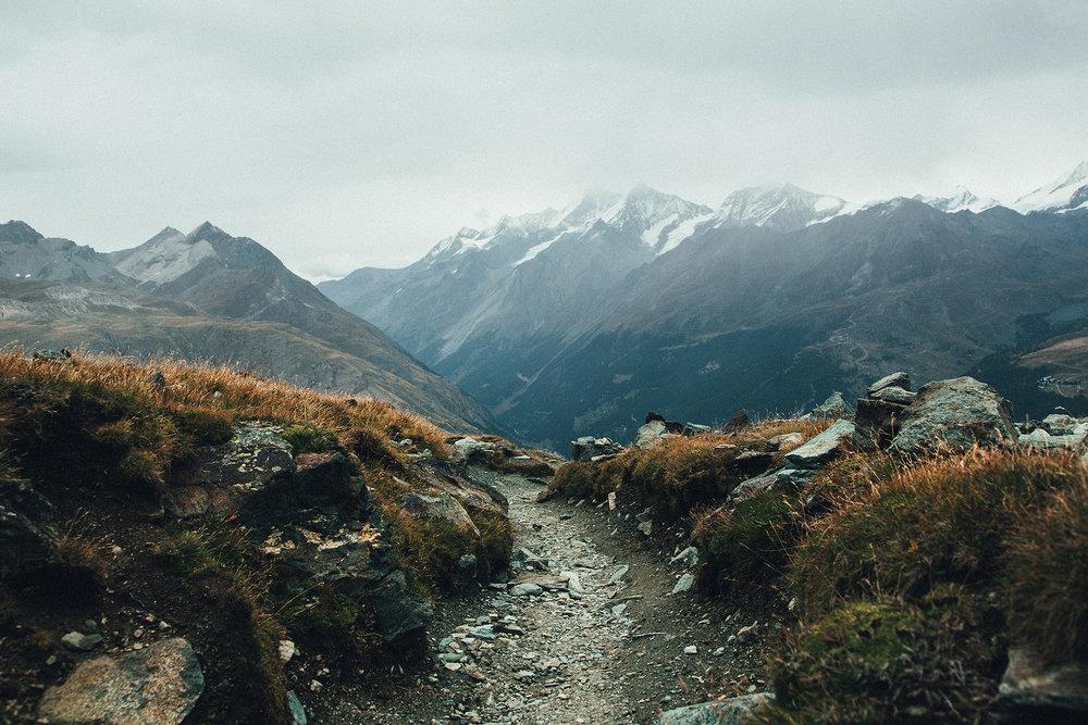 Hörnligrat Ridge, Matterhorn, Switzerland