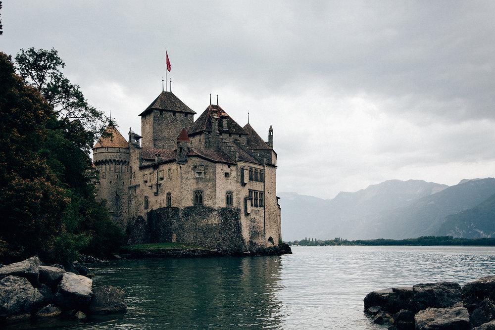 Château de Chillon, Veytaux