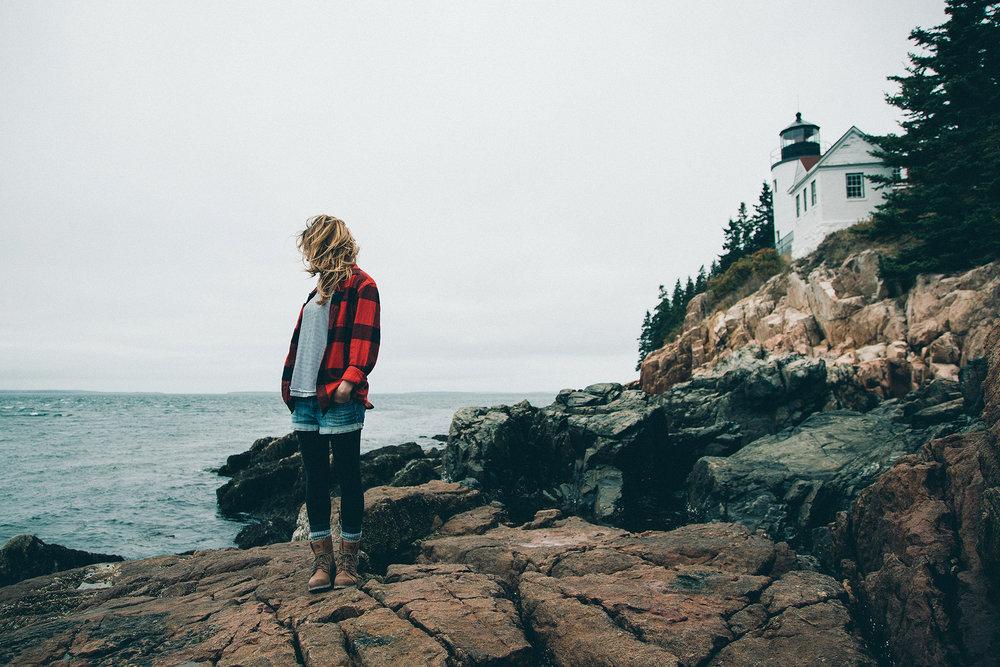 Bass Harbor Lighthouse  //  Photo - Daniel Barbato  /   Muse - Catherine