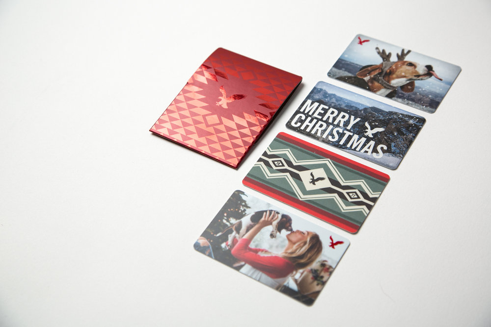 Holiday '15 Gift Cards