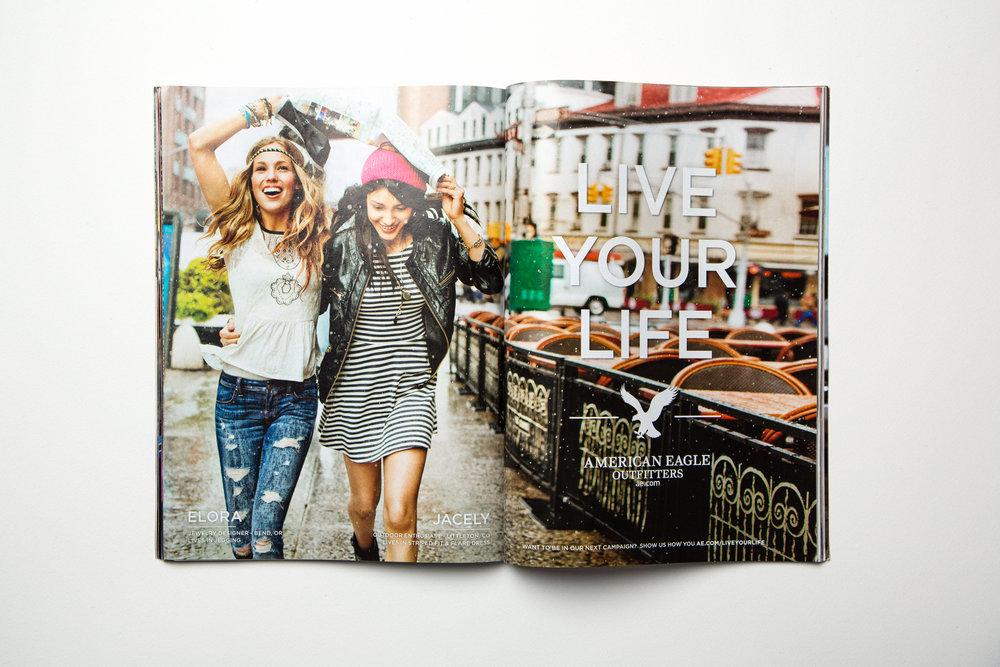 Cosmo Magazine Spread