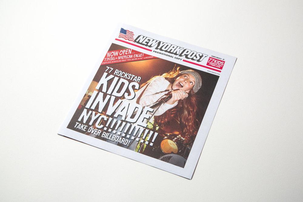 New York Post Wrap
