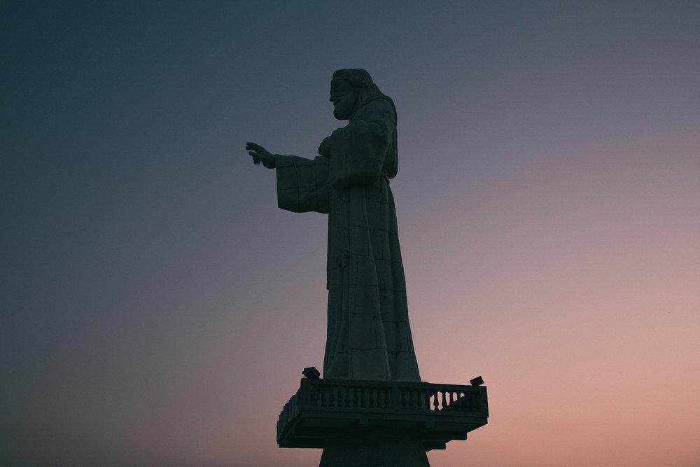 Christ of Mercy Statue - Nicaragua