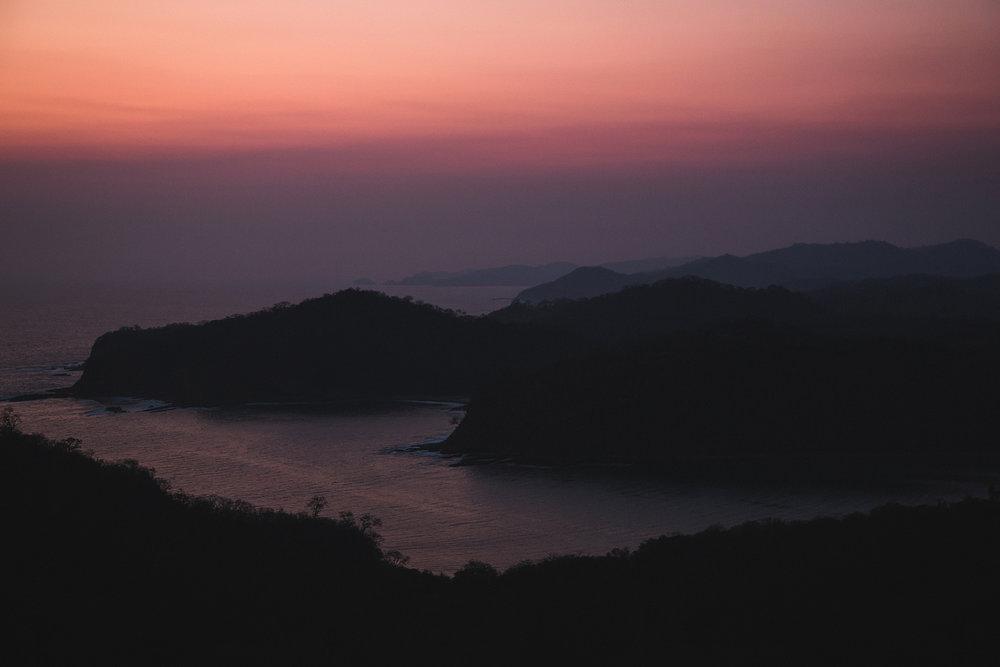 Nicaragua Pacific Coastline