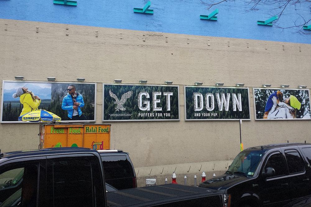 SOHO NYC Billboard