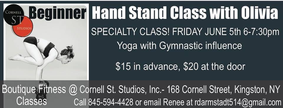 Beginner Hand Stand Class